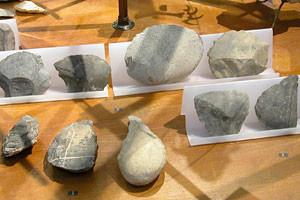 Доисторические инструменты в Музее