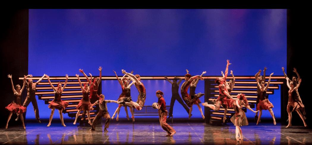 "Новый балет Бориса Эйфмана ""Up & Down"" на сцене в Монако"