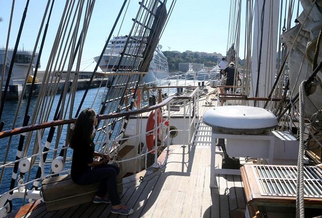 Старейшее судно Европы «Le Belem»
