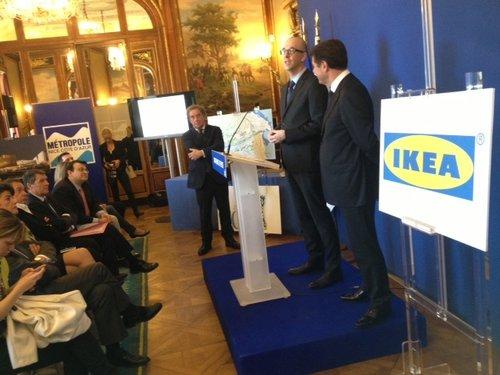 Пресс-конференция руководства IKEA