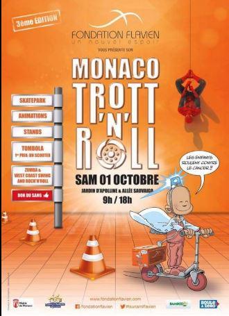 Trott'n'roll - день развлечений от Fondation Flavien