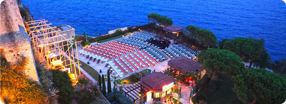 Кинотеатр под открытым небом в Монако
