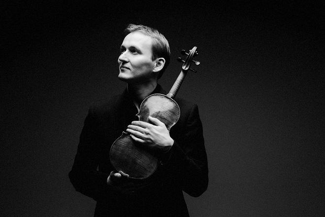 Победитель Monte-Carlo Violin Masters-2013 Никита Борисоглебский