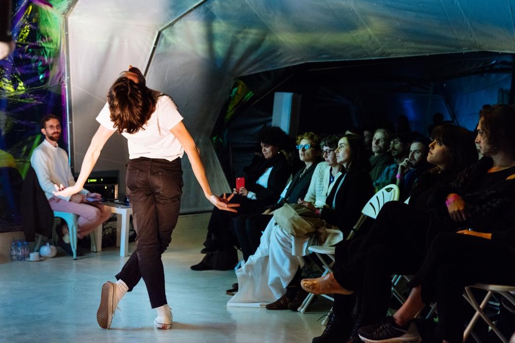 Постановка «Dying on stage» в мастерской Балета Монте-Карло