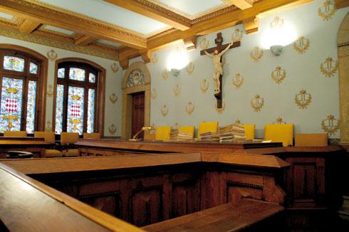 Зал заседаний суда