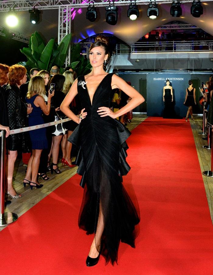 Платье из коллекции Изабель Кристенсен