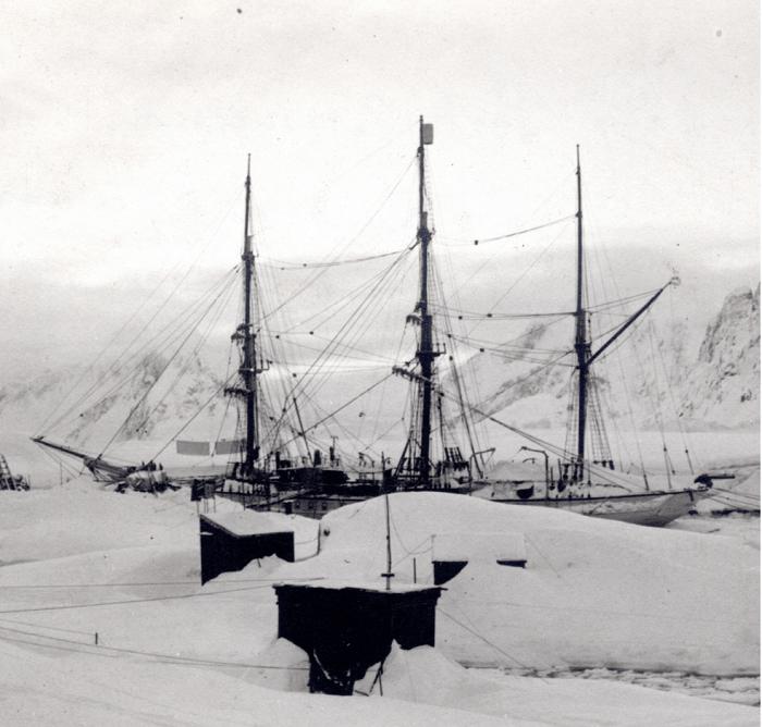 Альбер I в экспедиции
