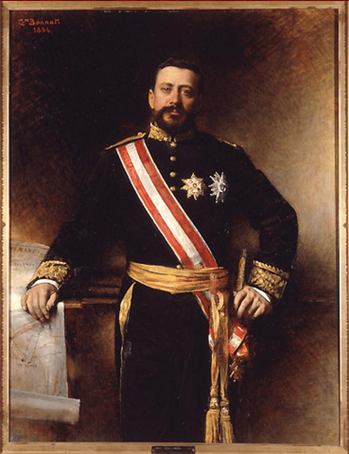 Портрет Альбера I