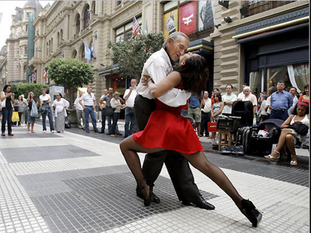 Tango festival In Monaco