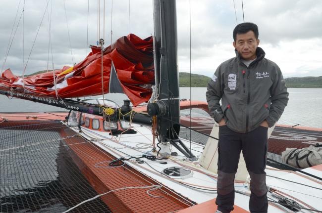 Китайский яхтсмен Го Чуань