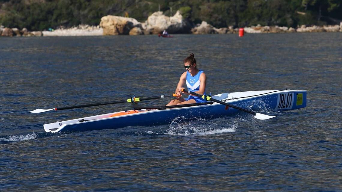 Золотая медаль в женском одиночном заплыве - ирландская спортсменка Моника Дукарска