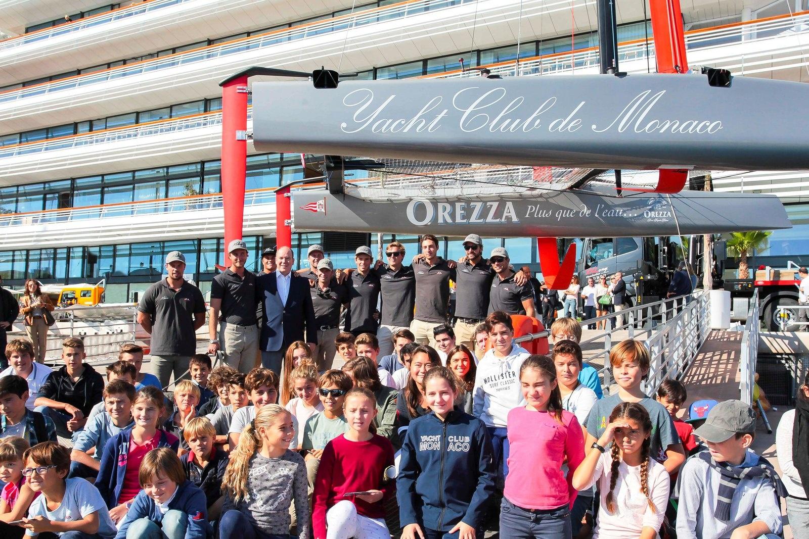 Пьер Казираги в Яхт-клубе Монако