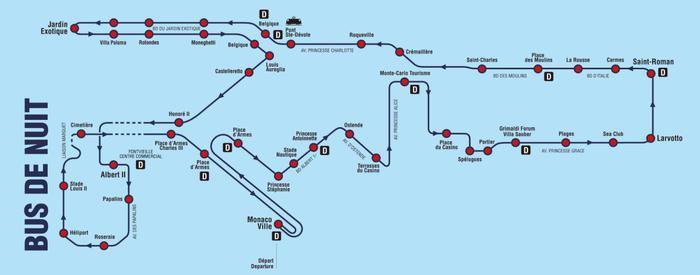 Изменен маршрут ночного автобуса