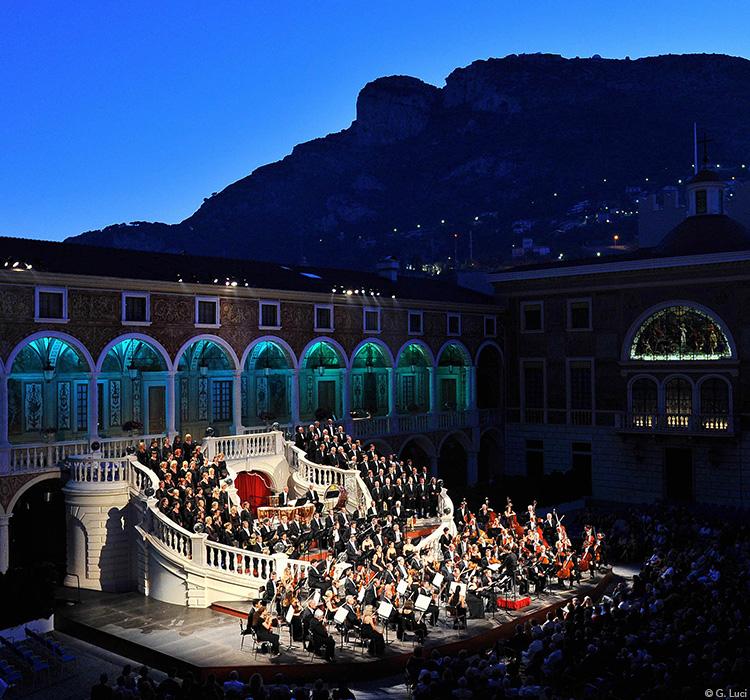 Концерт Филармонического оркестра Монте-Карло
