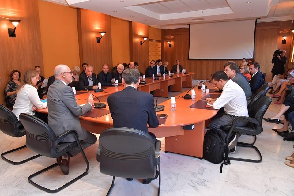 Государственный министр Монако Серж Телль встретился с журналистами Euranet
