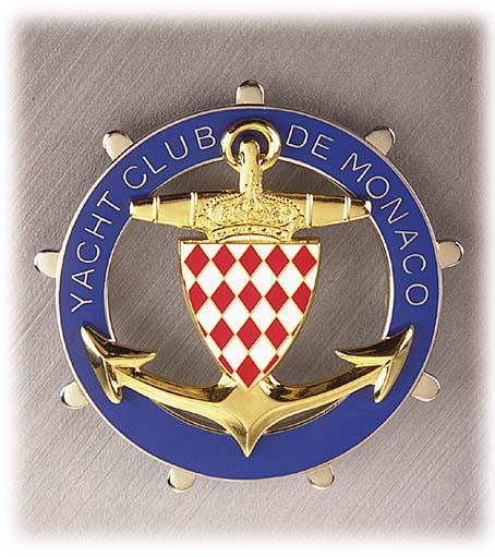 Значок яхт-клуба Монако