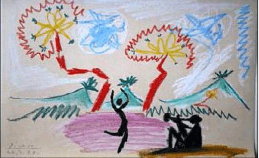 Работа Пабло Пикассо