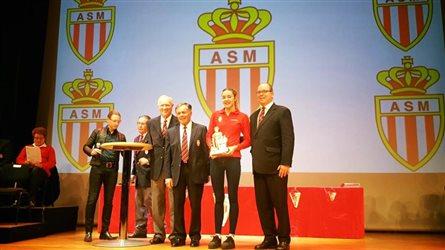 церемония вручения наград Спортивной ассоциации Монако
