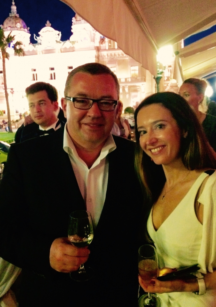 Елизавета Ловеринг и Борис Крюк