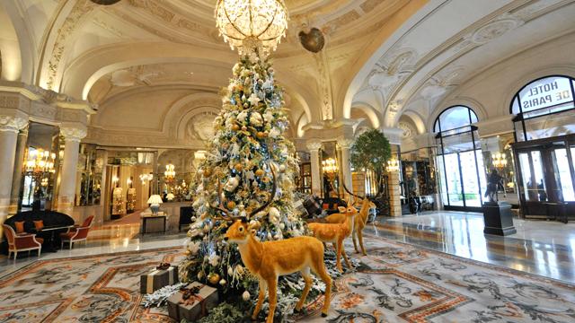 Благотворительный Рождественский бал в Hotel de Paris