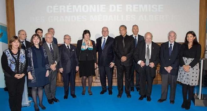 Церемония награждения медалями Альбера I