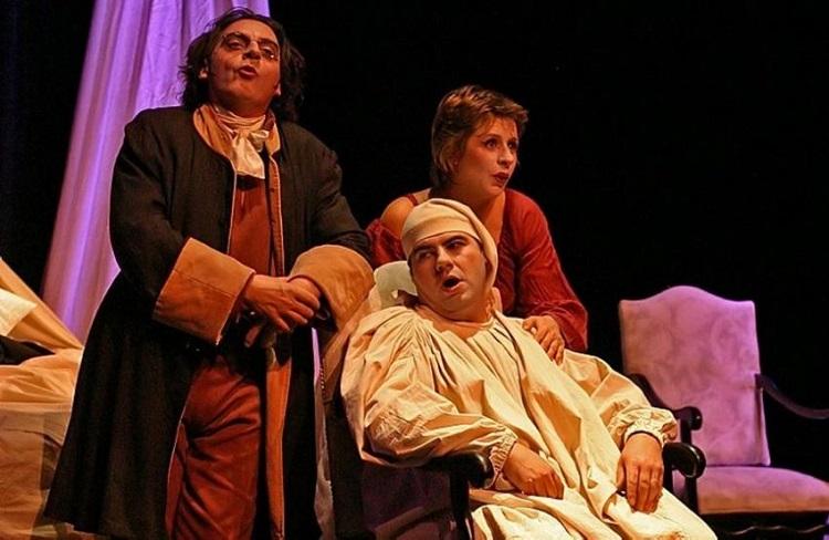 «Мнимый больной» в Театре Муз