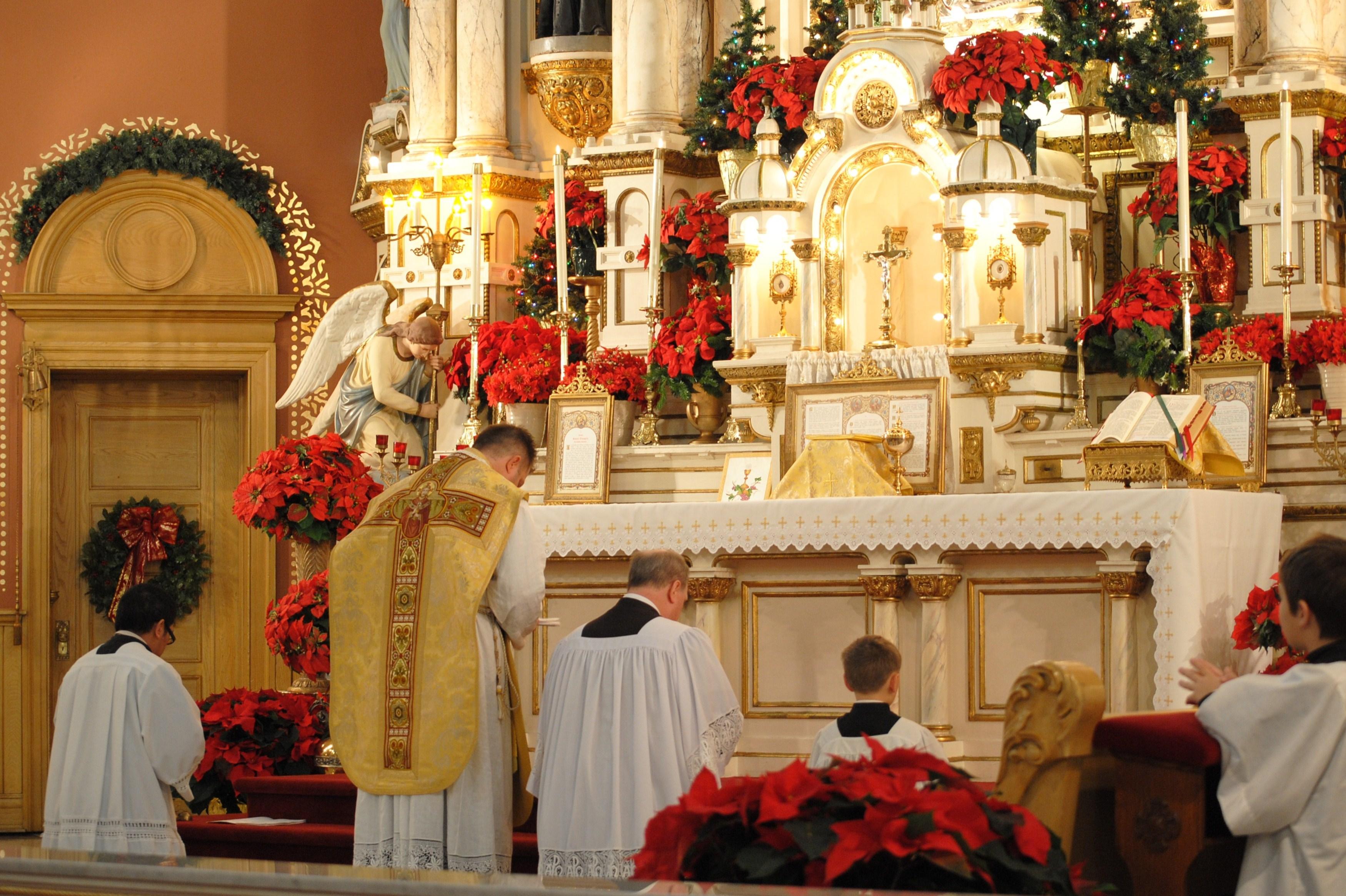 Рождественские мессы