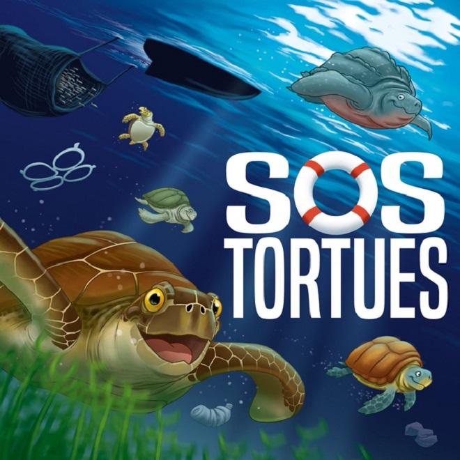 Настольная игра «Спасите черепах» (SOS tortues).