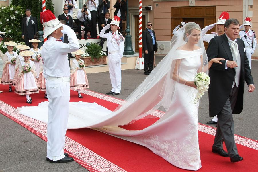 Свадьба Князя Альбера II и Шарлен