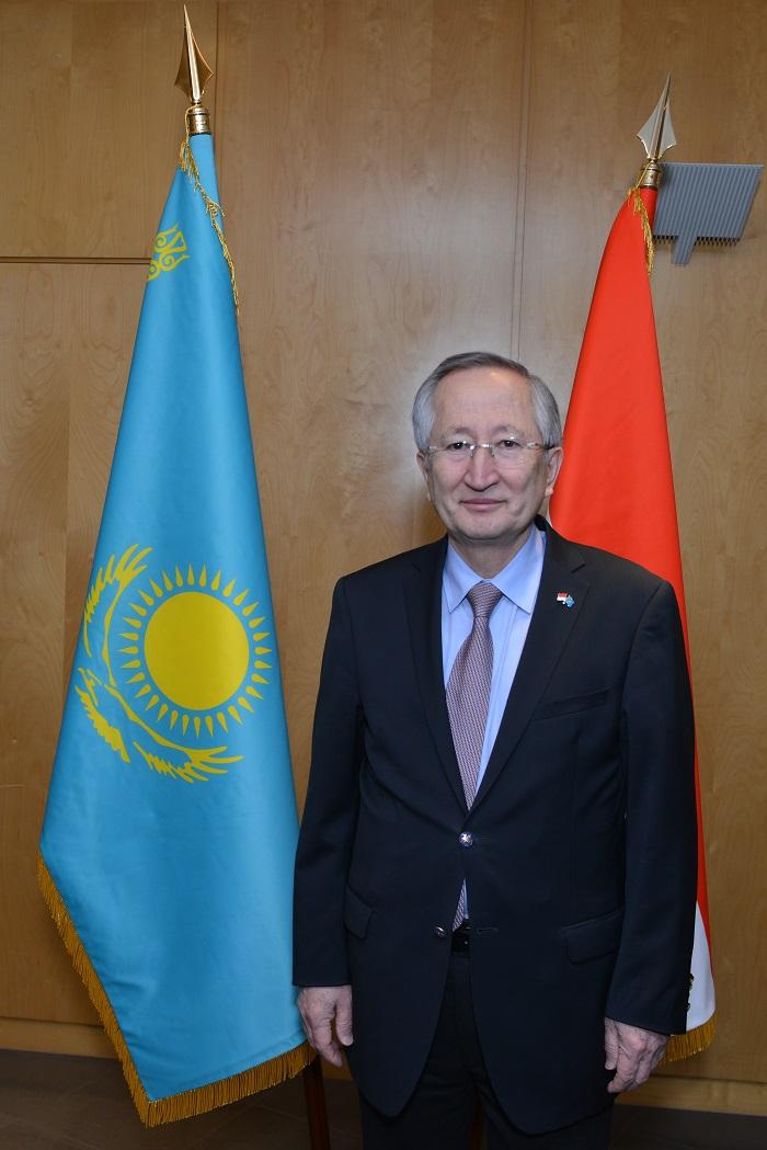 Посол Казахстана в Монако Нурлан Даненов