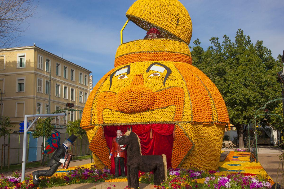 Фестиваль лимонов в Ментоне-2017