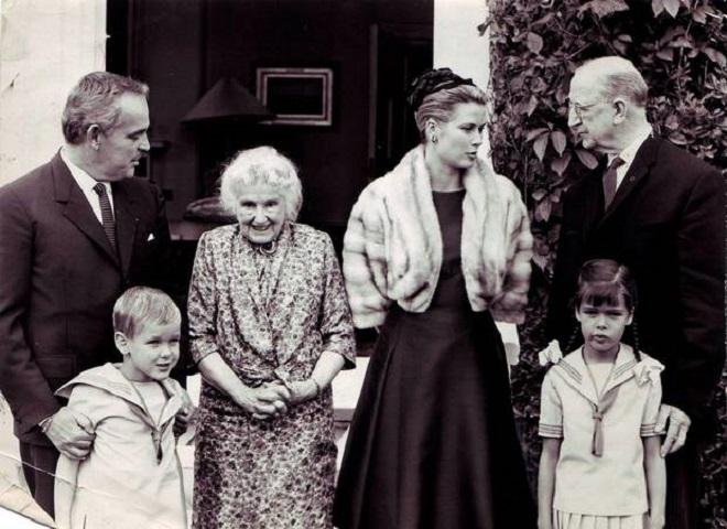 Княжеская семья в Ирландии, 1961г.