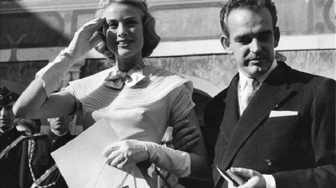Грейс Келли и Князь Ренье III