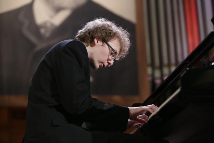 Российский пианист Сергей Редькин