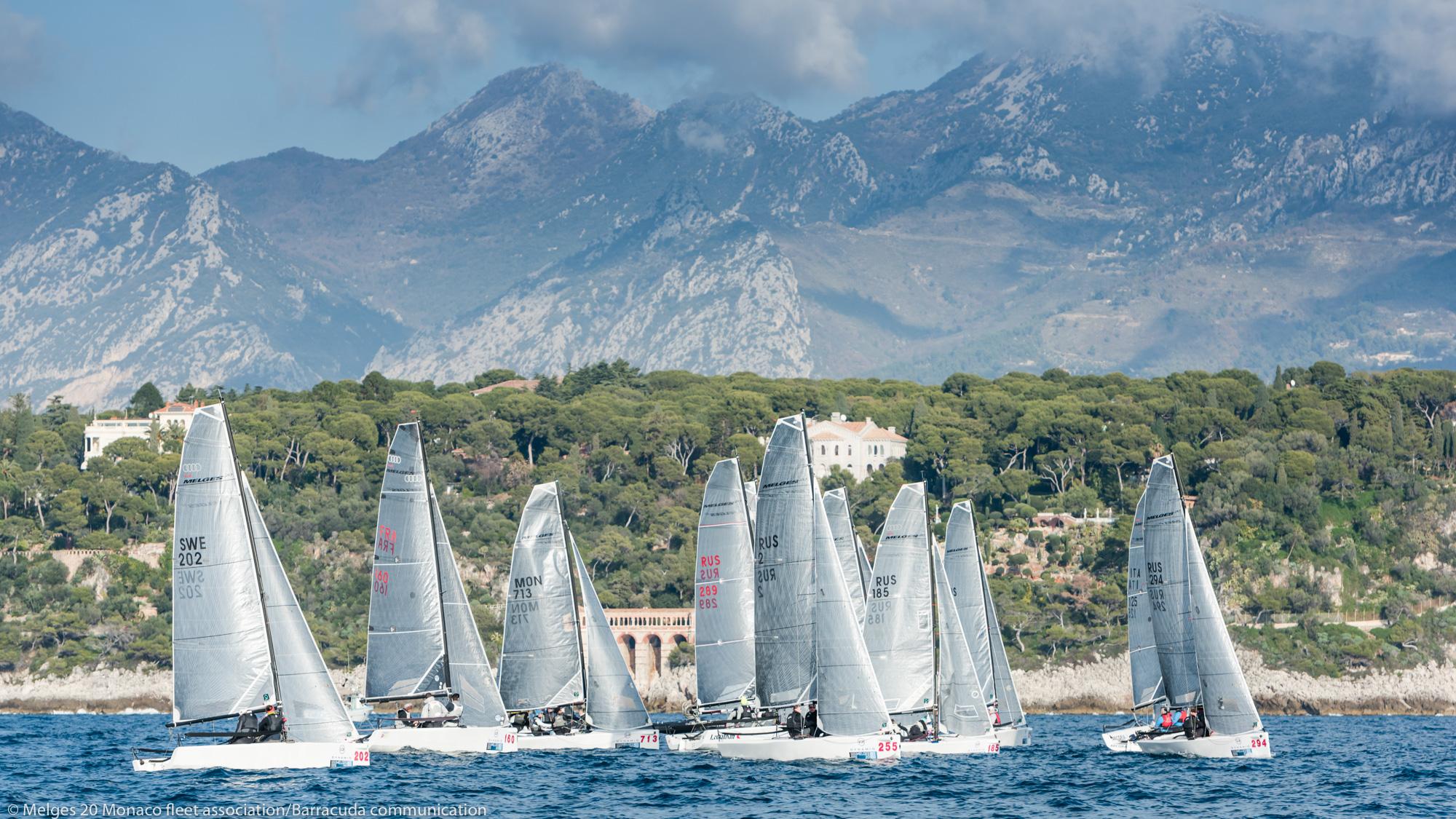 Dynamiq Yachts Melges 20 Monaco Winter Series - 2017