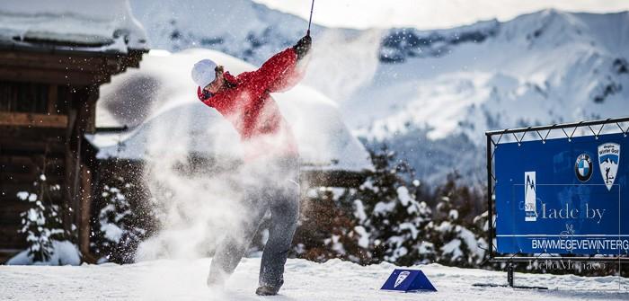 Снежный гольф в Вальберге (Valberg)