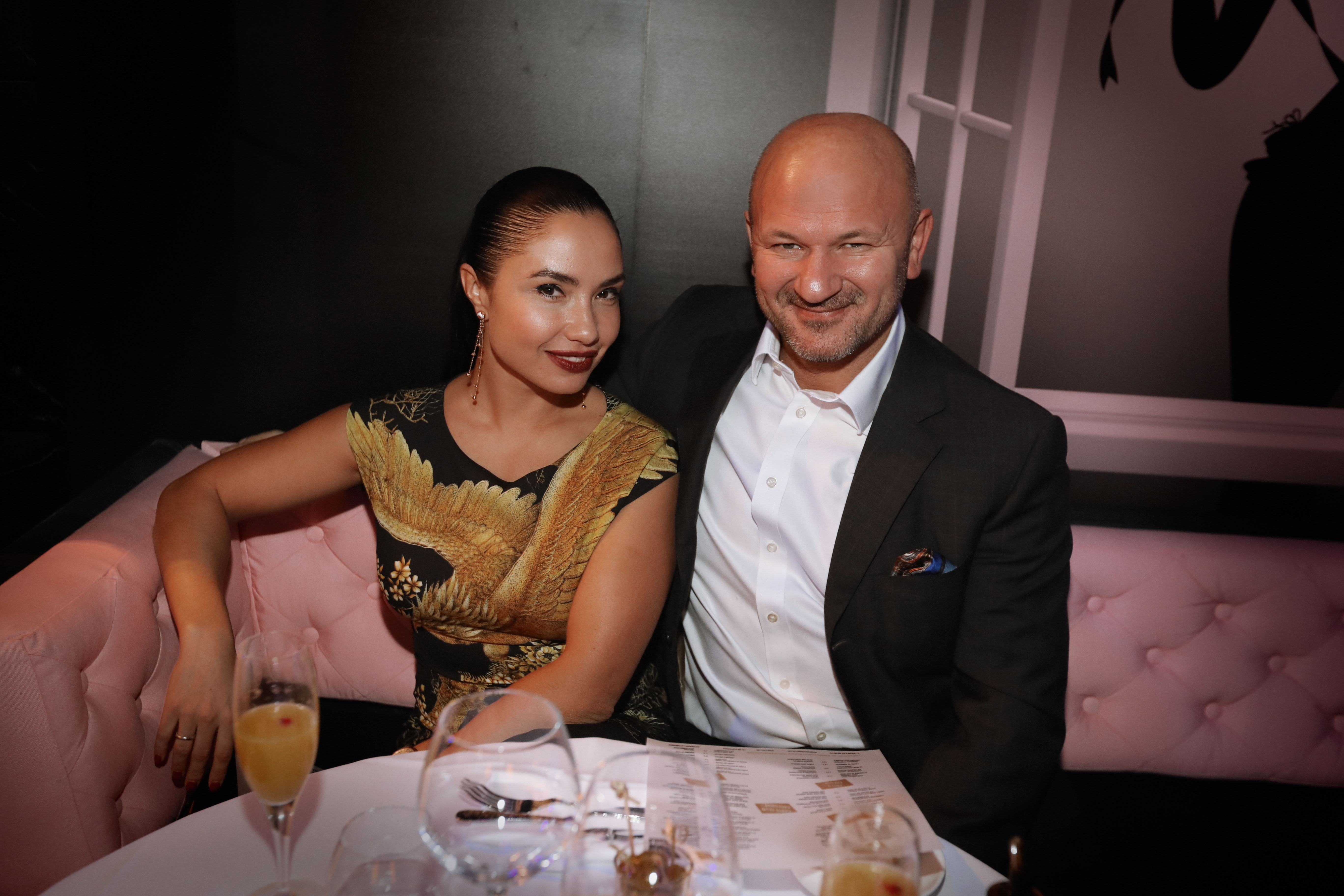 Индира Мерсиянова с супругом
