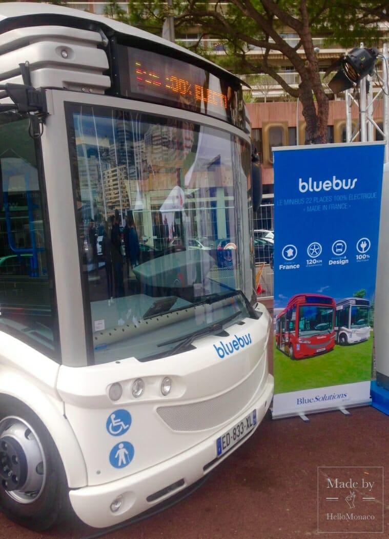 Blue bus на SIAM-2017