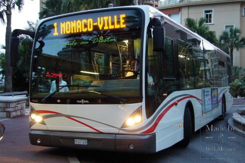 Автобус Монако