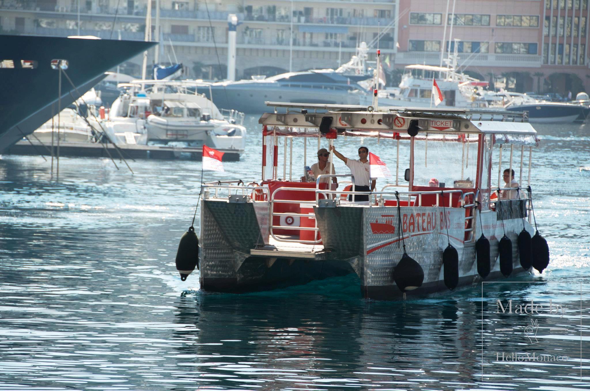 Паром в Монако