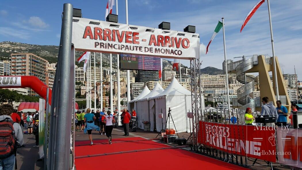 забег Monaco Run и прогулка Pink Ribbon