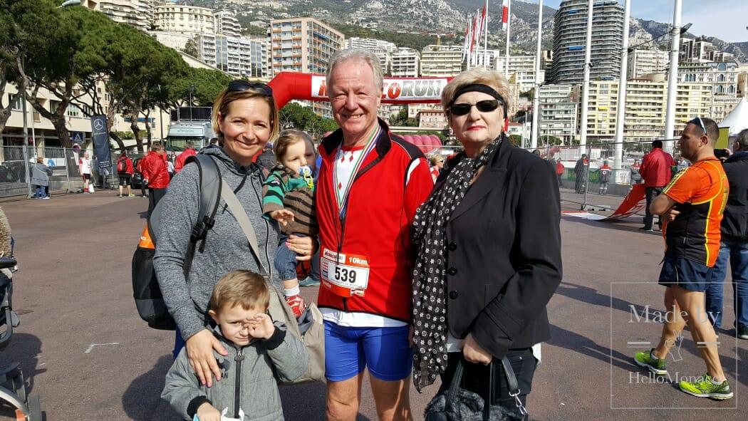 Участник Monaco Run Ганс Шулер