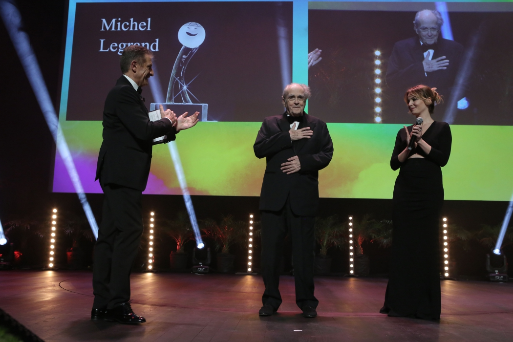 Мишель Легран на Фестивале комедии Монте-Карло