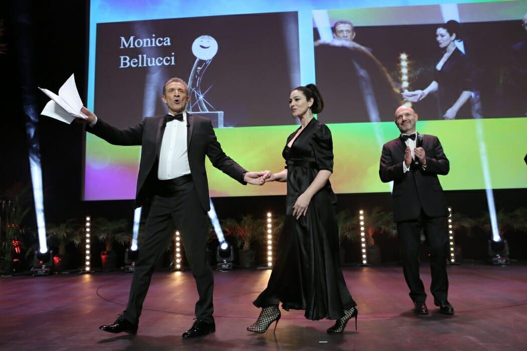 Моника Беллуччи на Фестивале комедии Монте-Карло