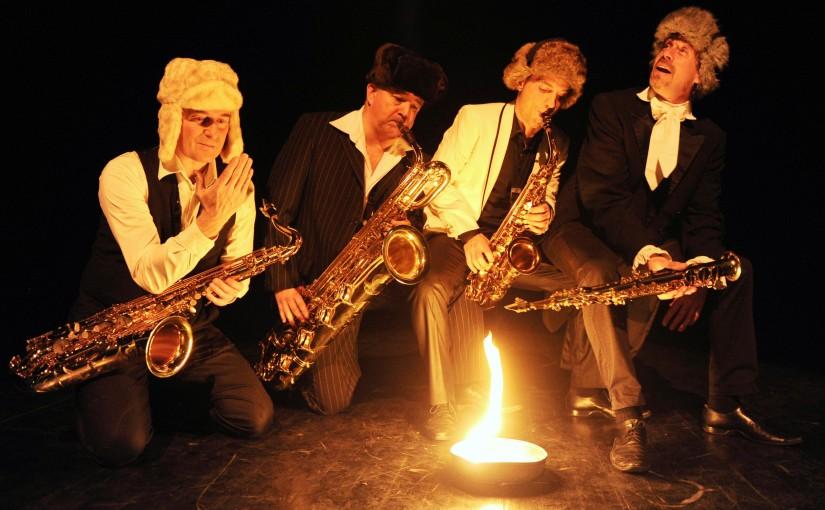 «Saxophonissimo 2» в Театре Муз