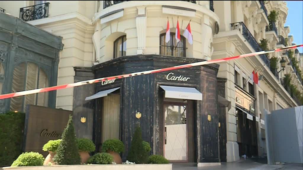 ограбление Cartier