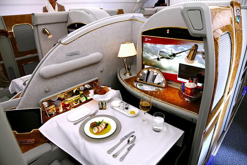 Авиалайнер A380 - бизнес-класс