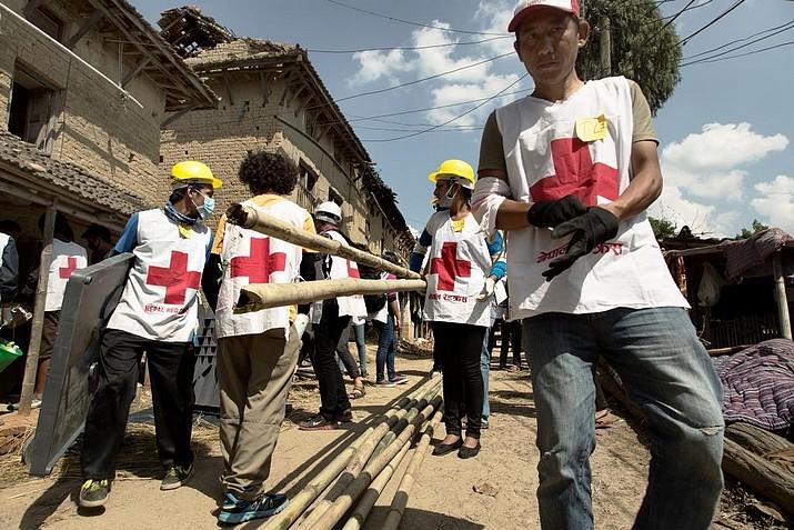 Красный крест в Непале