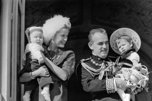Князь Монако Альбер II в детстве