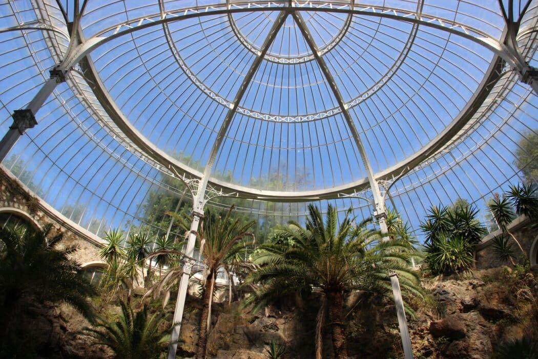 Купол зимнего сада Le Riviera Palace